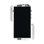 Silver HTC One (M8) Screen Assembly with Frame
