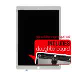 iPad Pro 12.9 (2017) LCD and Screen Replacement With Daughterboard Installed - White