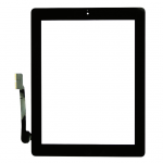 iPad 3 Touch Screen Digitizer with Home Button Assembly - Black