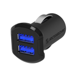 Dual USB Car Charger - 12 Watt (2.4A) USB Ports