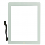 iPad 3 Touch Screen Digitizer with Home Button Assembly - White