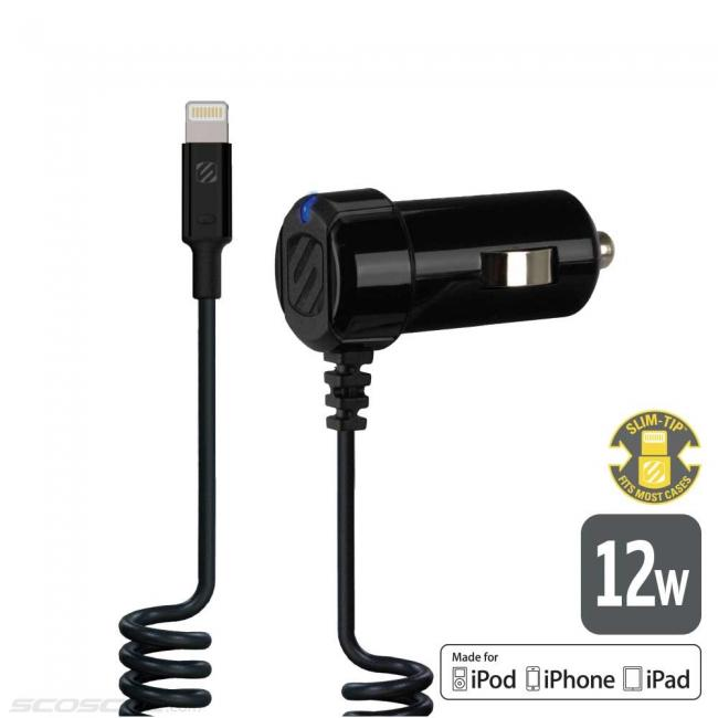 Scosche strikeDRIVE 12W Car Charger for Lightning™ Devices
