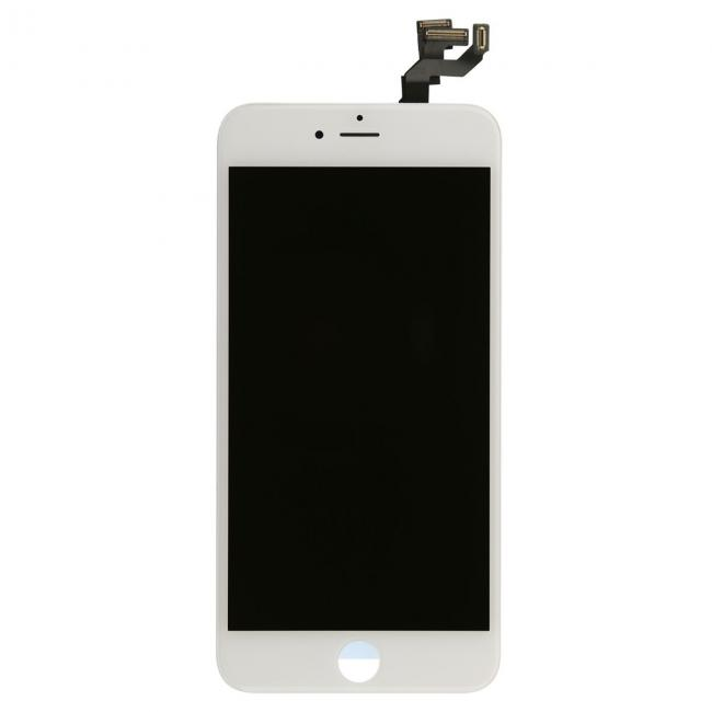 White iPhone 6s Plus LCD & Touch Screen Assembly with Small Parts