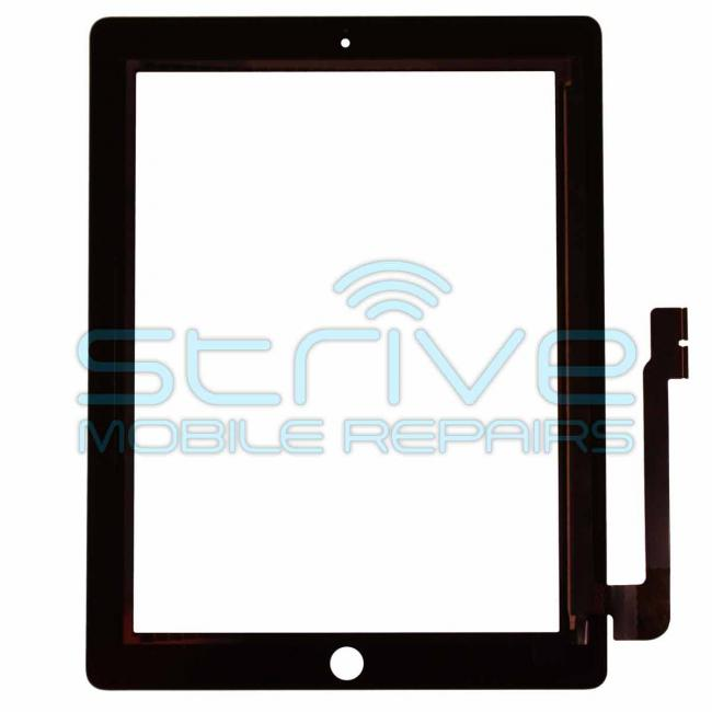 White iPad 3 Glass Digitizer Replacement