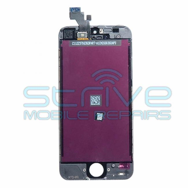 Black iPhone 5c LCD Screen and Digitizer Replacement