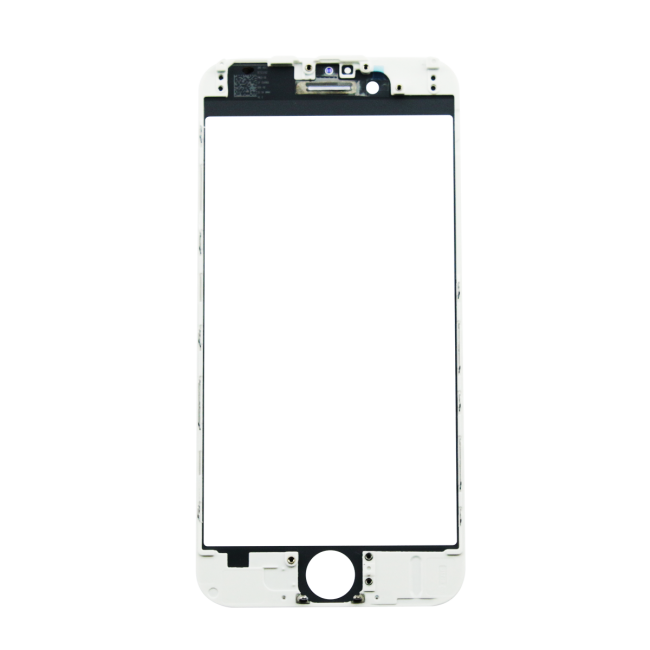 iPhone 6 Glass Lens Screen & Frame - White (Cold Pressed) | Free ...