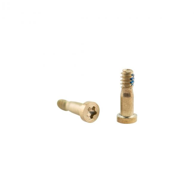 iPhone 6 Complete Screw Set - White/Gold pentalobe