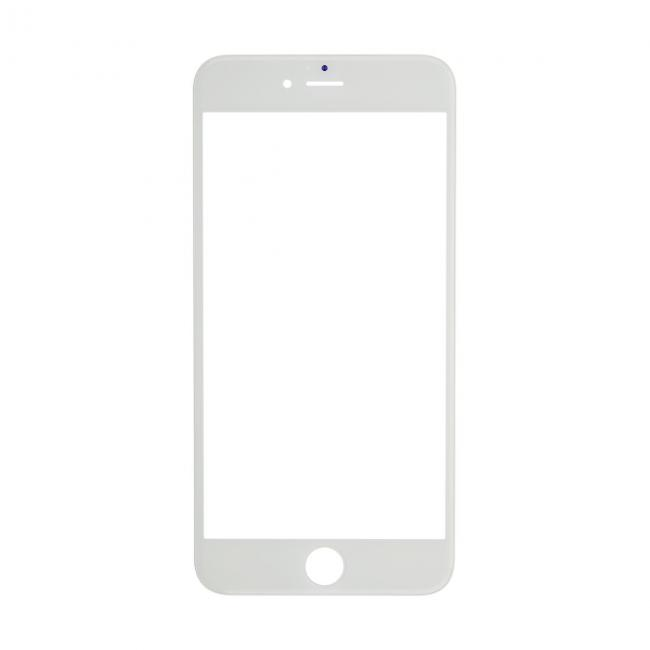 iphone 6 plus glass lens screen frame white cold pressed - Mobile Frame