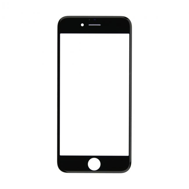 iPhone 6s Glass Lens Screen & Frame - Black (Cold Pressed)
