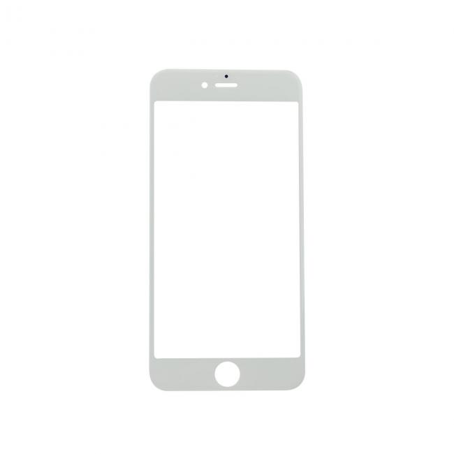 white iPhone 6s Plus Glass Lens Screen Replacement