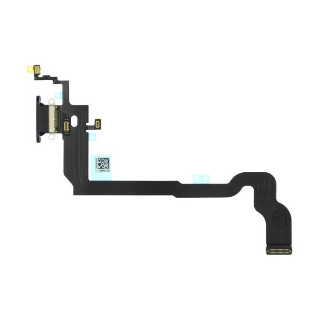 iPhone X Charging Port Flex Cable Replacement - Black