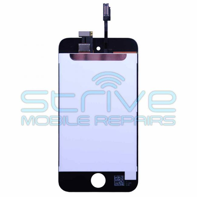 iPod Touch 4G Screen Assembly Back - Black