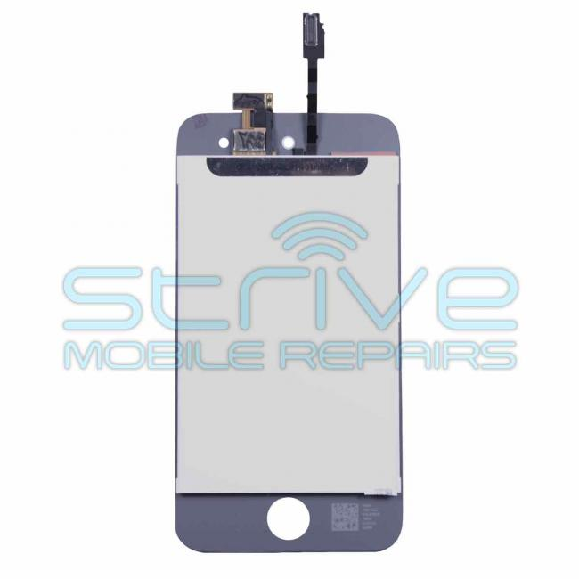 iPod Touch 4th Gen Screen Assembly Replacement - White Back
