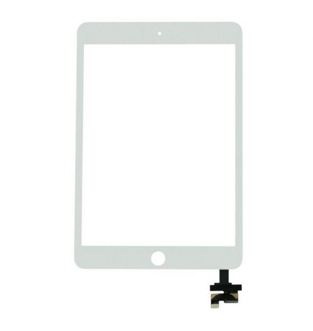USA Touch Digitizer Screen IC Chip Gold Home Button For Ipad Mini 3 A1599 A1600