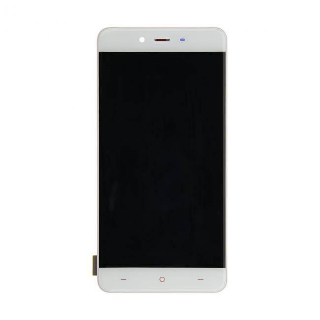 OnePlus X LCD & Touch Screen Digitizer Assembly with Frame - White ...