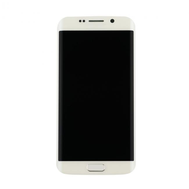Samsung Galaxy S6 Edge LCD & Touch Screen with Frame - White | Free ...