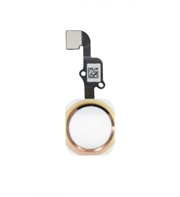 iPhone 6s and 6s Plus Home Button Flex Cable Assembly - White/Rose Gold